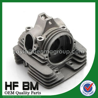 Motorcycle Cylinder Head for Bajaj Boxer 100 Motorcycle Spare Parts