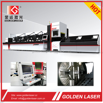 CNC High precision Fiber Laser Metal Tube and Pipe Cutter Price