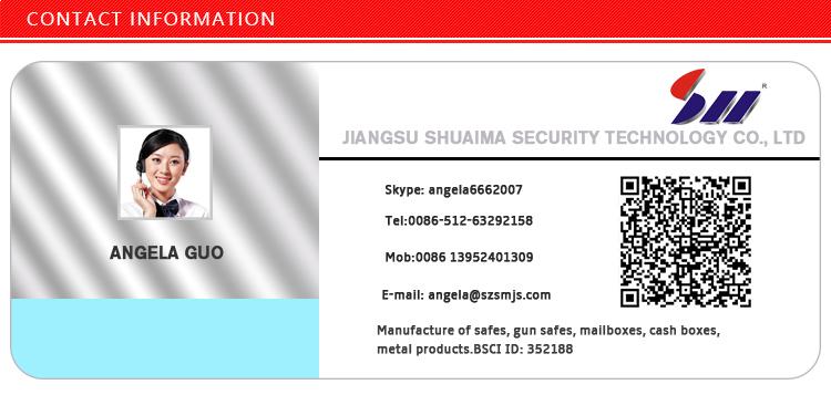 310*200*200mm Wholesale laptop electronic digital lock deposit hotel room security safe box