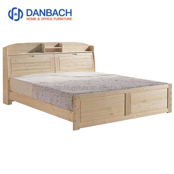 Children Solidwood Bed Pine Bedroom Furniture Single Double King Queen Size