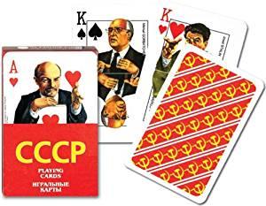 CCCP (USSR) Soviet Celebrities Playing Cards by Piatnik