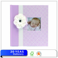 New design custom kids foto book foto album a4 baby photo album