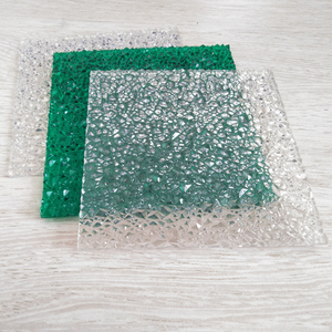 Window Embossed Sheet Polycarbonate Solid Sheet Privacy Protection Sheet for Sale