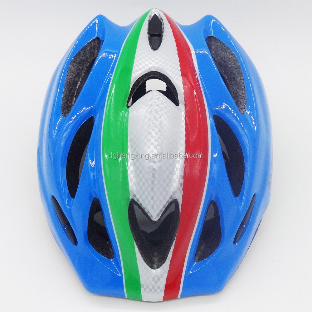 Out mold PVC shell EPS Liner helmets for kids outdoor sports