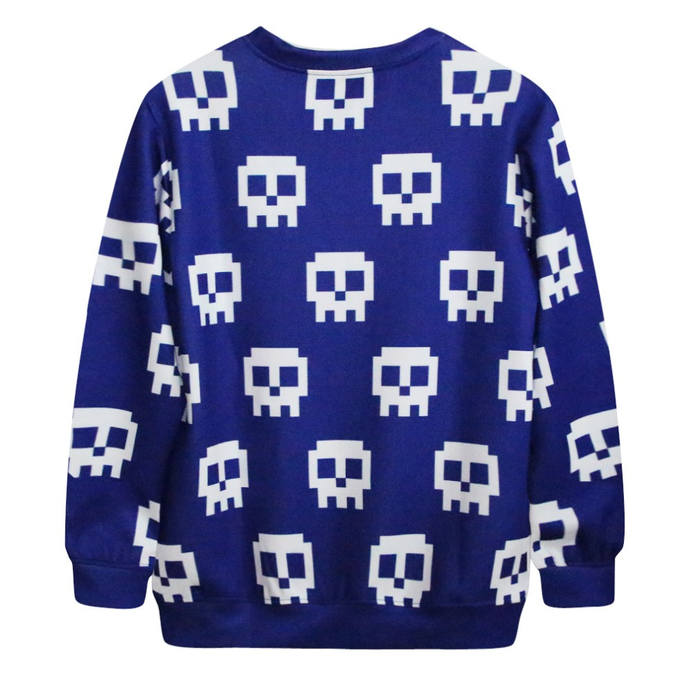 women 3d skull print cheap china wholesale clothing