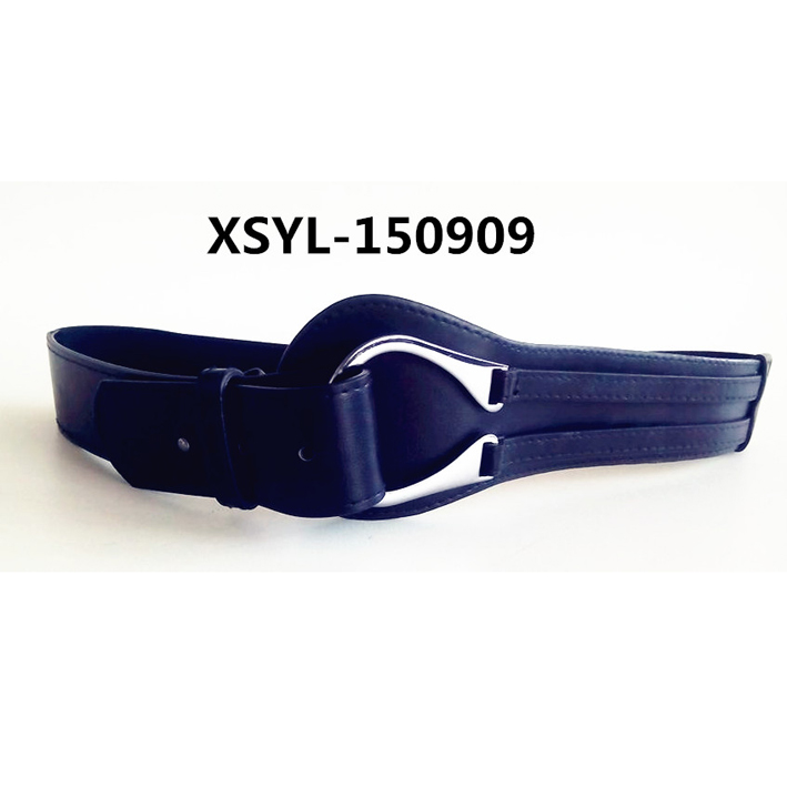 Ladies women special belt with thick rivet and big buckle