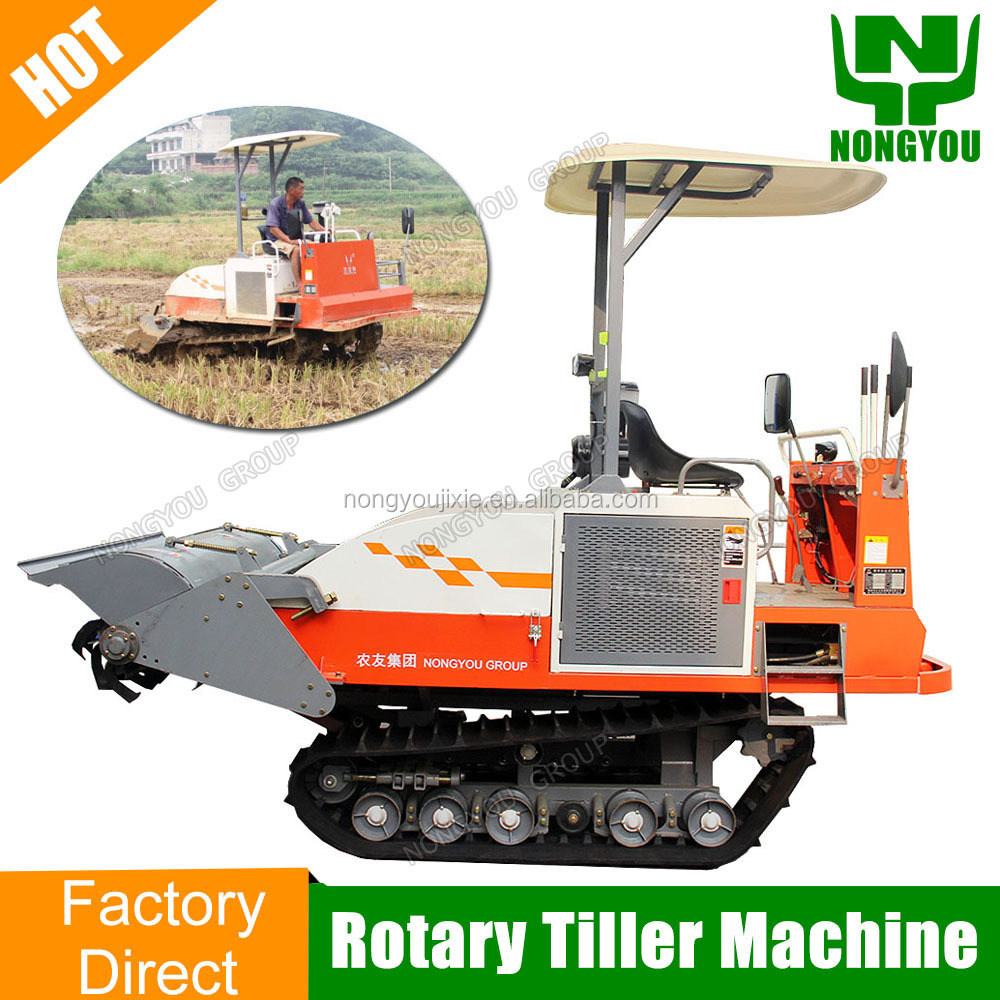 Factory Volume Riding Price Of Power Tiller Crawler-Type Price Of Power Tiller Track Price Of Power Tiller 1GZ-180
