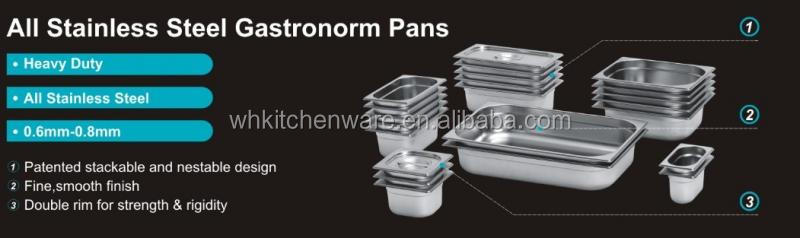 Rectangular 9Liter Roll Top chafer oblongo Roll Top atrito prato com 2 bandejas de alimentos