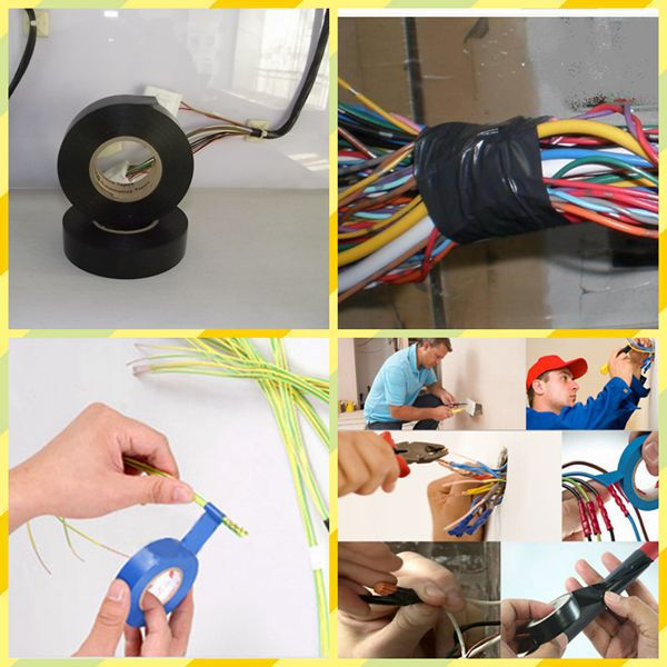 pvc automotive wiring harness insulating tape
