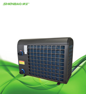 warmepumpe, heat pump pool of 30m3