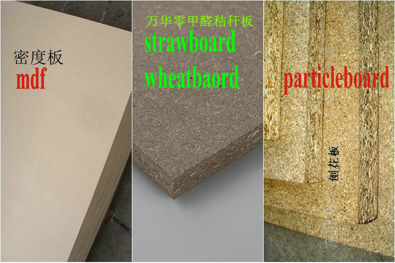 Difference Between Mdf And Particle Board ~ Use new material rice straw wheat particleboard