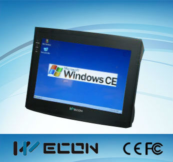 Wecon 10.2 inch industrial embedded pc,mini pc windows embedded