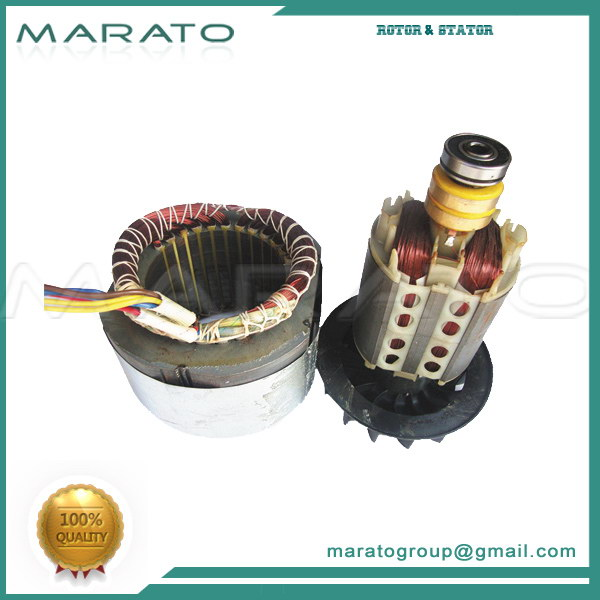 Top Level Top Sell Ac Electric Motor Generator Rotor Core