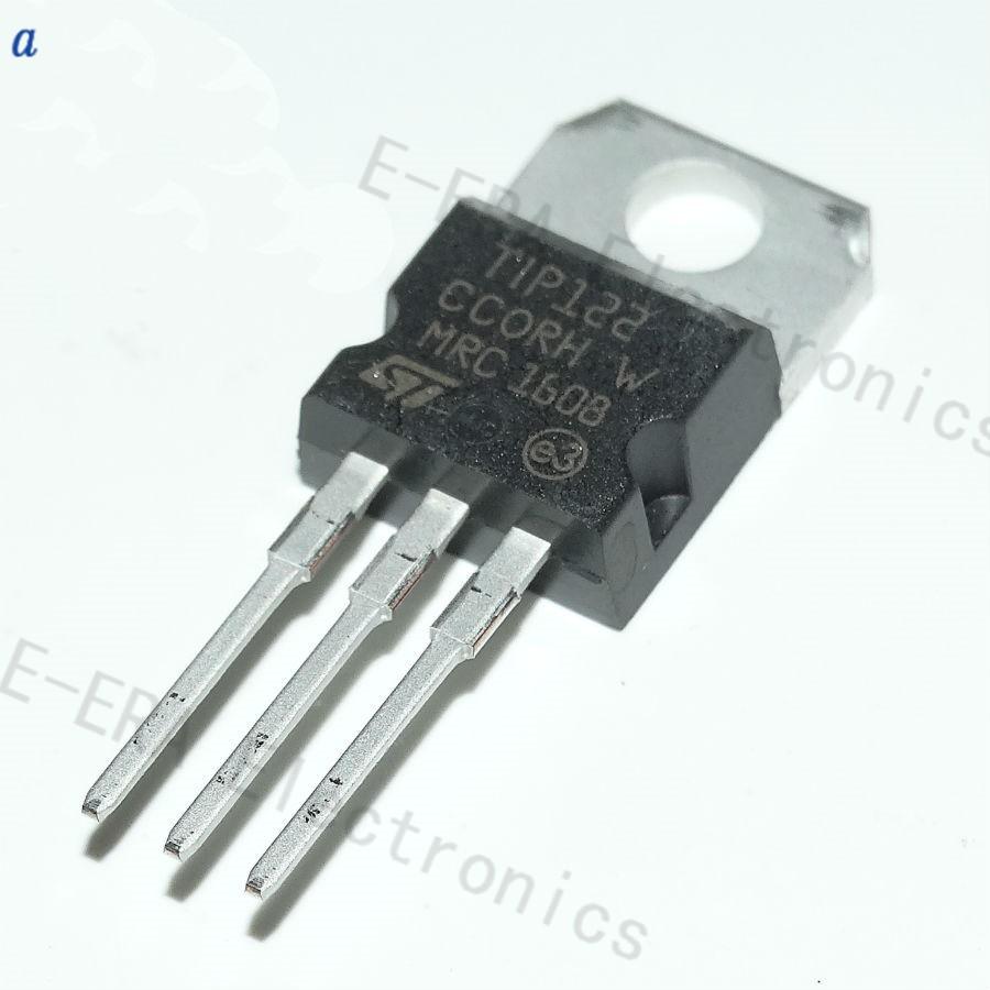 ST TIP122/Trans Darlington NPN 100/V 5/A 3-pinto-220/x20pcs
