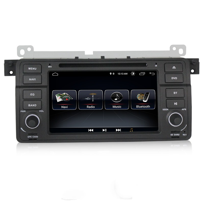 Mekede DSP 7 ''Android 9.0 Auto DVD radio stereo-player für BMW 3 serie E46 318 320 M3 mit WIFI GPS Navigation audio media