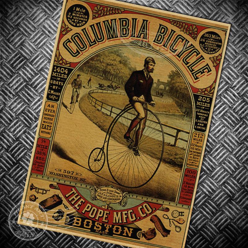 Vintage Bicycle Stickers 41