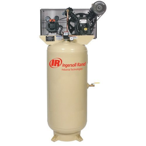 - Ingersoll Rand Type-30 Reciprocating Air Compressor (Fully Packaged) - 7.5 HP, 230 Volt 1 Phase, Model# 2475N7.5-P