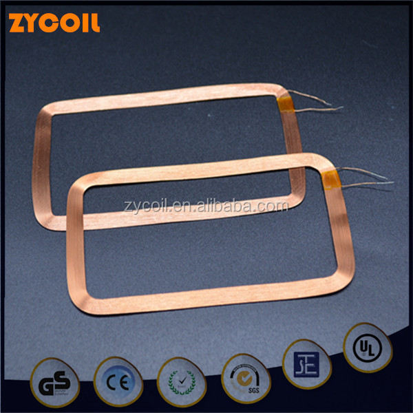 Factory directly price customize rfid key ring card inductor coil