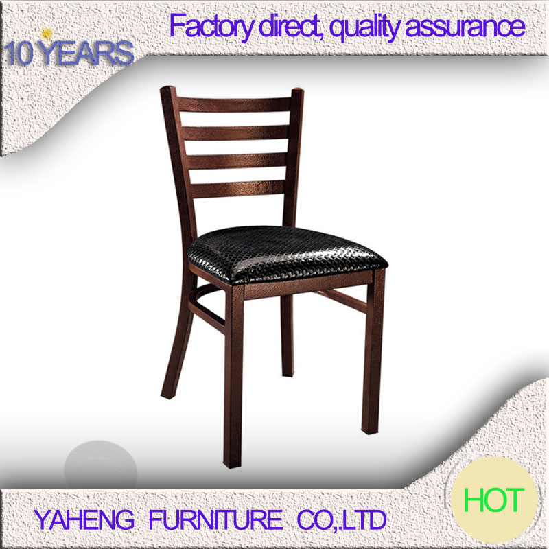 Modern industrial stackable restaurant Dining cafe chair Metal Navy Chair