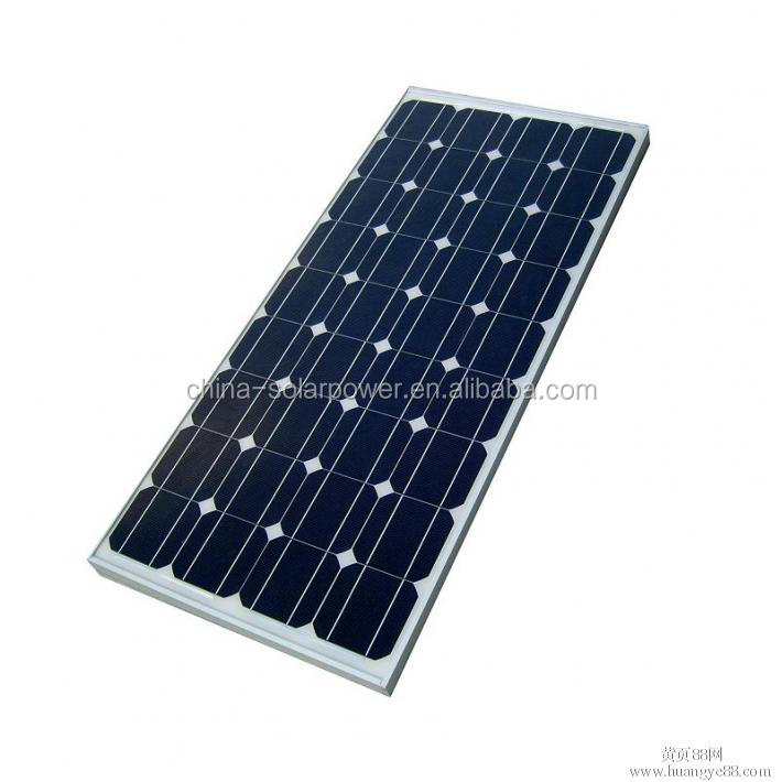170W Mono Solar Panel Monocrystalline Cell High Efficiency Quality