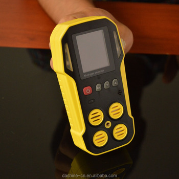 Infrared CO2 gas detecting alarm 0-100%VOL, portable co2 gas analyzer design and make