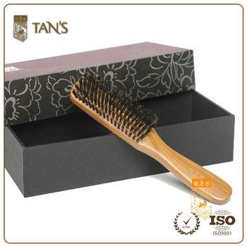 how to clean natural bristle hair brush