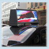 Outdoor Double Side Taxi Roof Video LED Display/Full Color Car Top Sign/3G WIFI Taxi Advertising Light Box