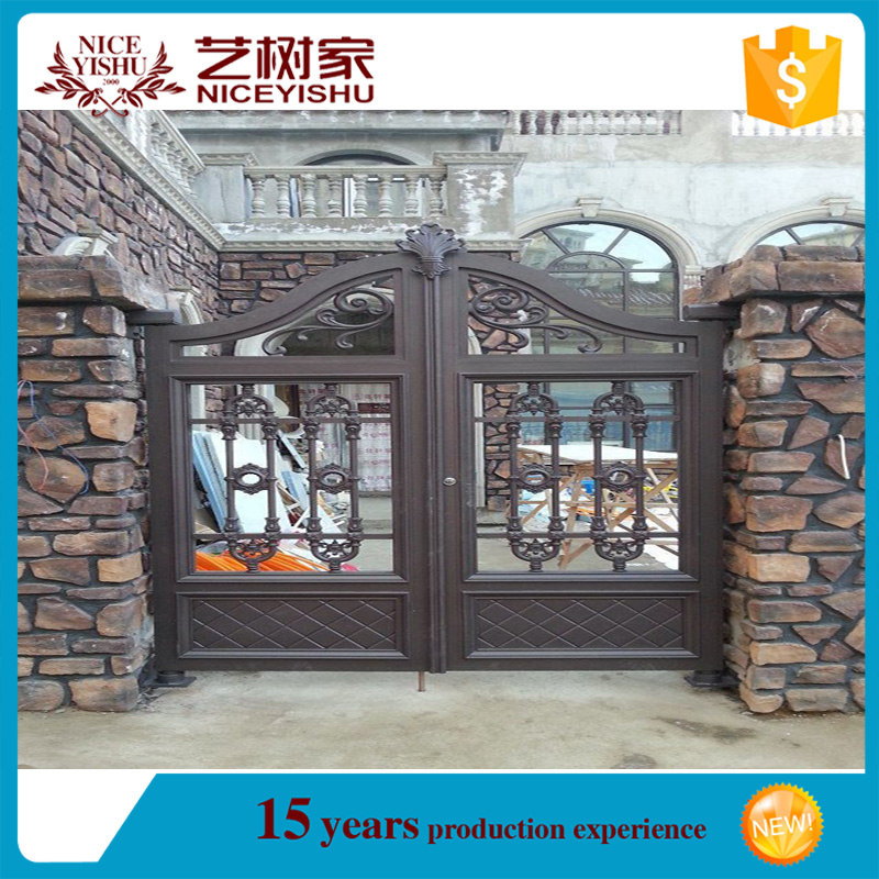 China Supplier New Products Indian House Cast Aluminum Main Gate ...