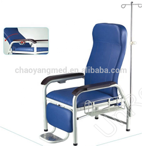 CY-H802 Hospital mobile blood transfusion chair , reclining blood drawing chair , dialysis treatment chairs for patient