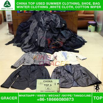 3db32b99794f3 In germania ordinati riciclaggio marca pulito uomini adatti indumenti usati.  Economici vestiti usati