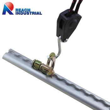 Logistic Aluminum L Track Tie Down System L Track Rope
