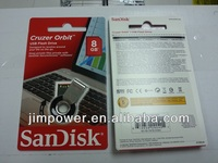SDCZ58-008G-B35 SanDisk Cruzer Orbit 8 GB USB Flash Drive