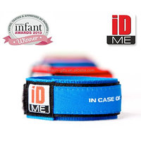 Children Reusable Identity Wristband Kids SOS ID Wrist Band