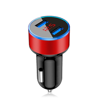 Drogontech LED Bluetooth Car mobile phone accessories Dual USB Car Phone Charger Car-charger for iphone charger