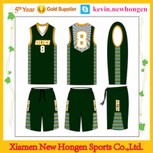 customized high fashion basketball wear