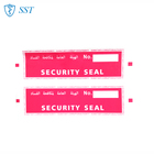 Chinese printing Tamper Evident void security seal Label Sticker