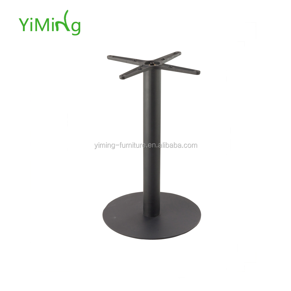 Simple design cast iron table leg for cocktail and coffee table