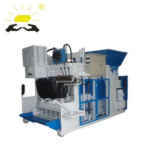QMY10-15 Promotion season hot sale mobile hollow block making machine