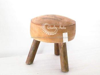 Sgabelli Con Seduta In Pelle : Seduta in pelle tre gambe sgabello di legno buy sgabello gambe
