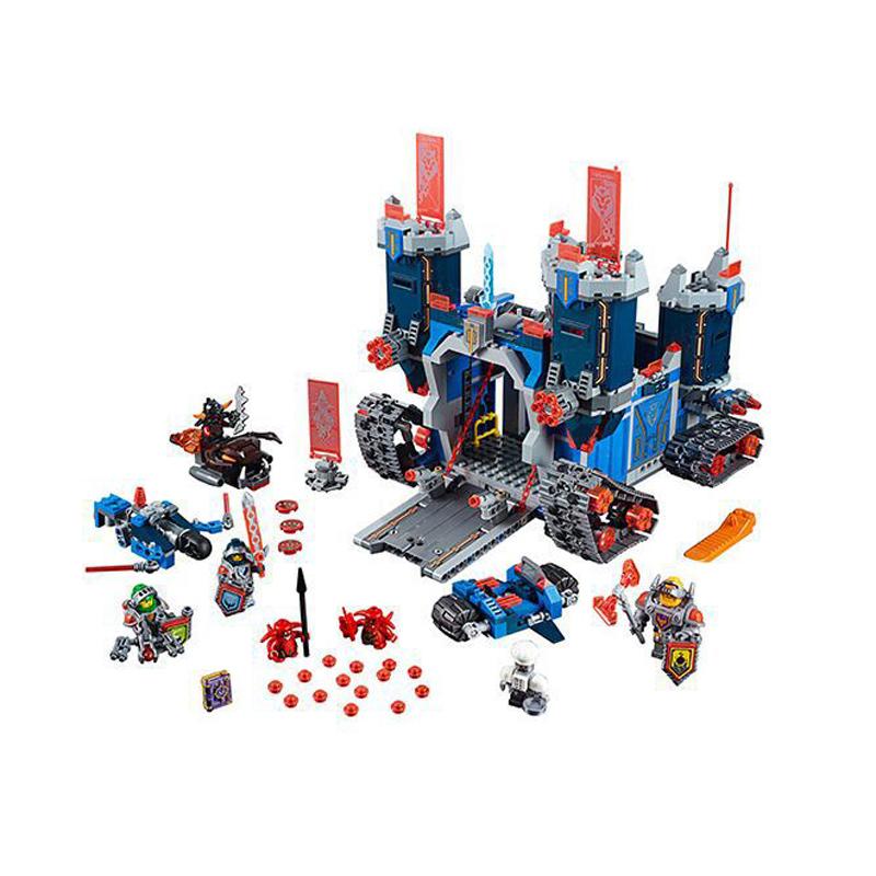 2016 Nexo Future 1115Pcs Knight Building Block Minifigure Enlighten Bricks Castle Warrior Battle Kid Toy Compatible