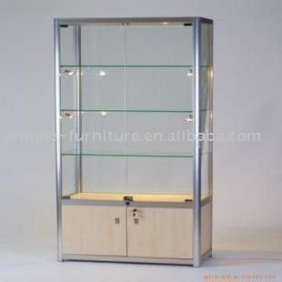 Attirant Door Glass Display Cabinet