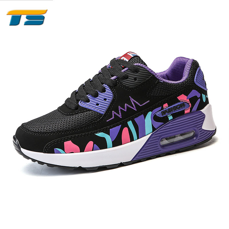 716589cf0 الملونة الهواء الأزياء ماكس الاحذية الأحذية النسائية-أحذية رياضية ...