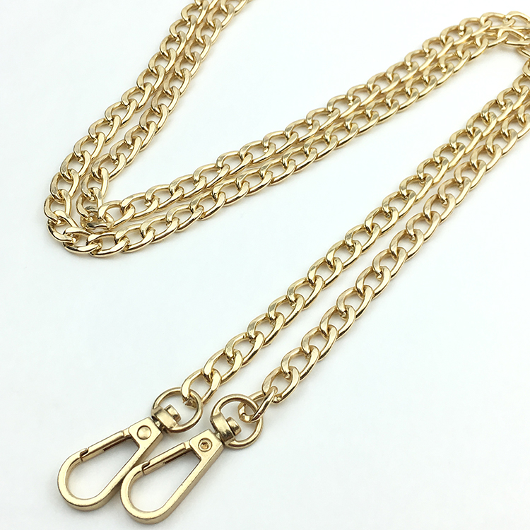 "Metal purse chains 39.5/"" Antique Brass"