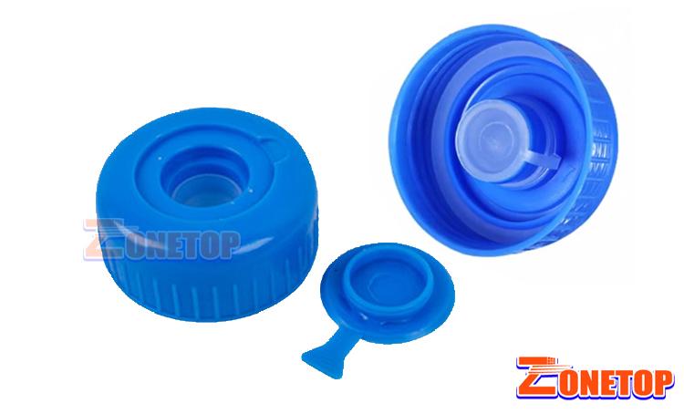 55mm neck PE PP PET HDPE Plastic 19 liter 20 liter 5 gallon water bottle caps