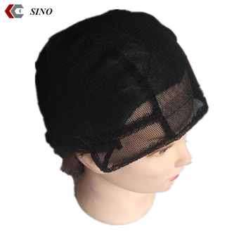 Adjustable Bands Lace Front Wig Cap For Woman Mesh Weaving Cap Net