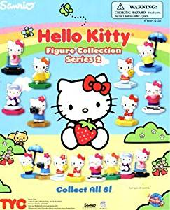 Hello Kitty Buildable series 2 Capsule Toys set of 8