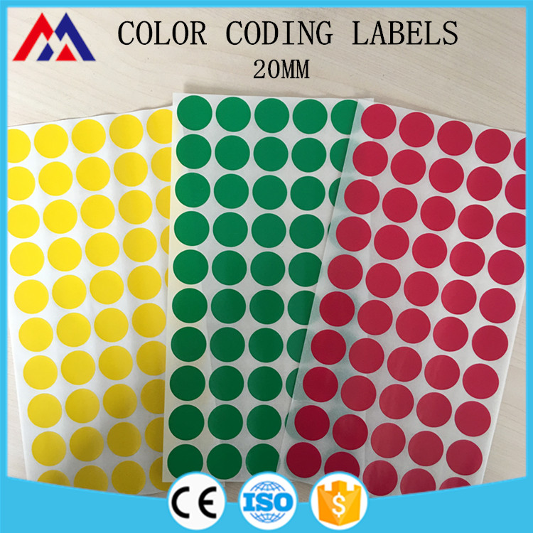Custom Sizes Circle Color Coding Labels - Buy Color Coding Labels,Circle  Color Coding Labels,Custom Color Coding Labels Product on Alibaba com