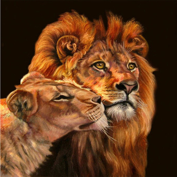 animal style lions picture paintings art on canvas buy lion