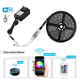 Walmart smart 5050 rgb led strip kit 0.2mm thickness ac dc flex lights wireless rgb wifi led strips