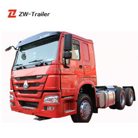 New Condition 6x4 Drive Wheel Tractor Truck, Tractor Truck Head, Heavy Duty Truck Tractor in Africa